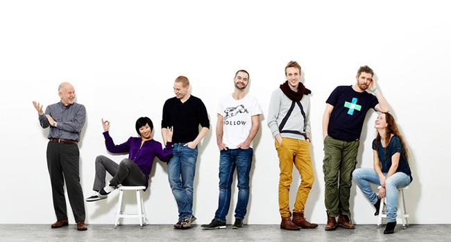 Aquí, los responsables de DB60, el estudio danés DNgroup
