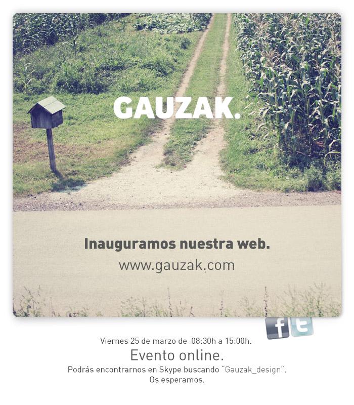 Gauzak.com: Evento Online.