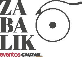 logo de zabalik-eventos gauzak